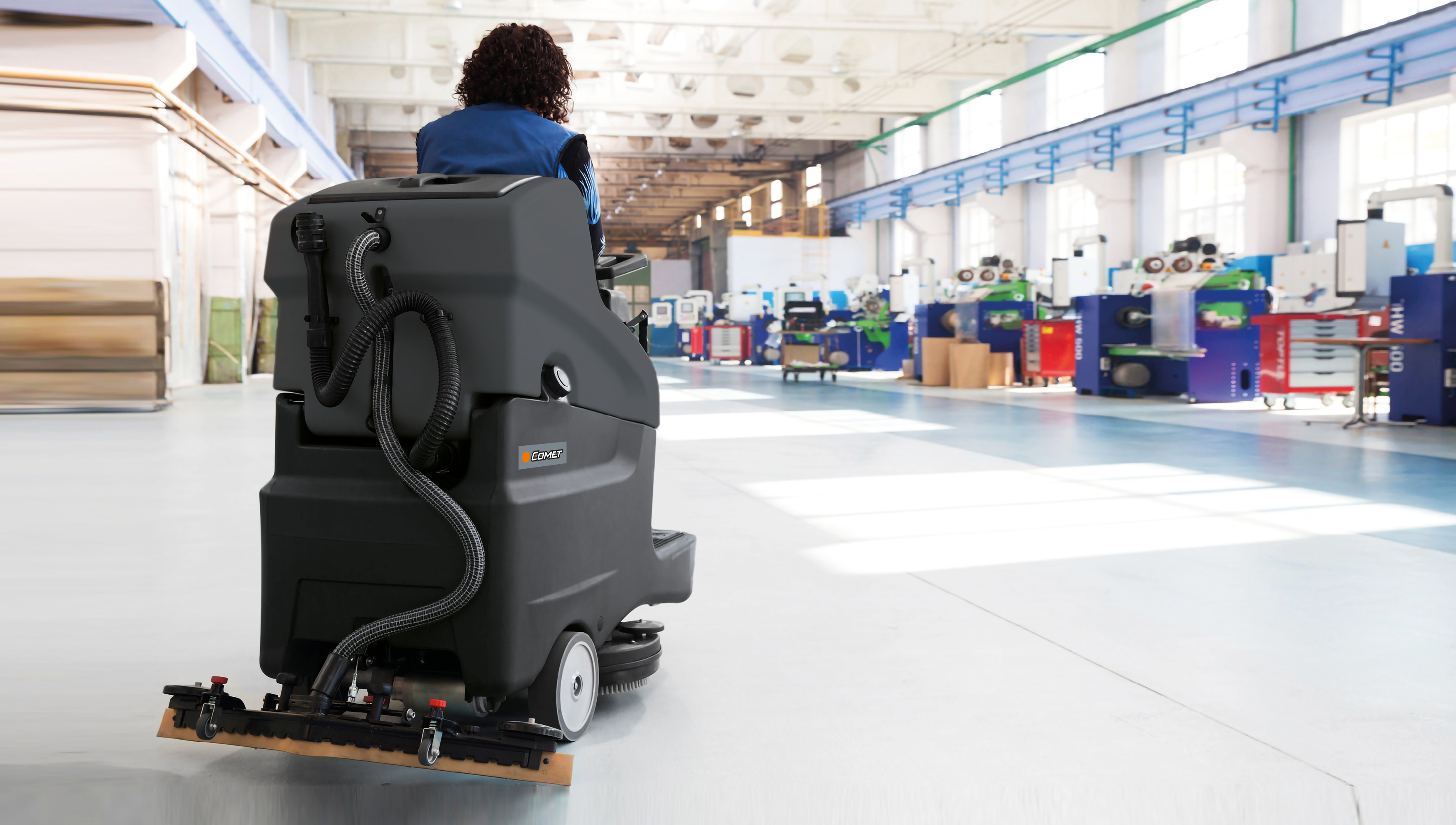 HOW TO ENSURE THE HYGIENE OF FLOORS WITH A SCRUBBER DRYER