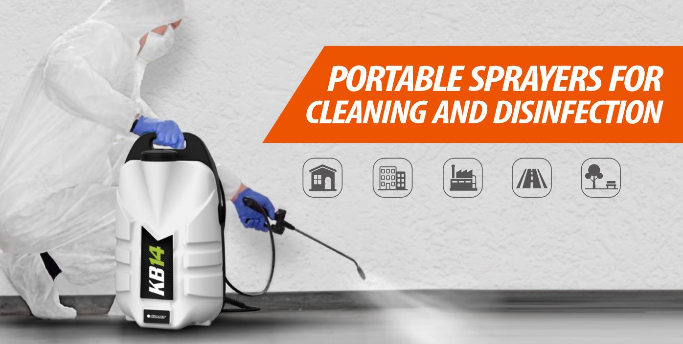 PORTABLE SPRAYERS FOR THE SANITIZATION AGAINST COVID-19